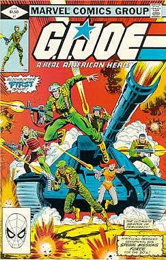 Marvel Comics GIJoe #1