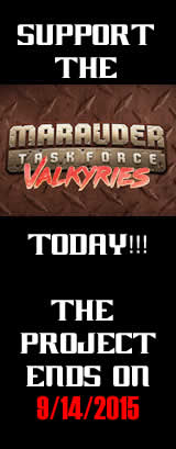 Marauder Task Force Valkyries Kickstarter
