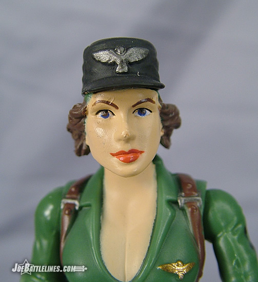 Lady Jaye closeup