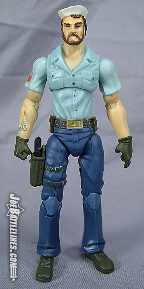 Shipwreck GI Joe Sailor Blue Shirt