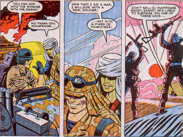 Mainframe in GIJoe Vol 1 #58