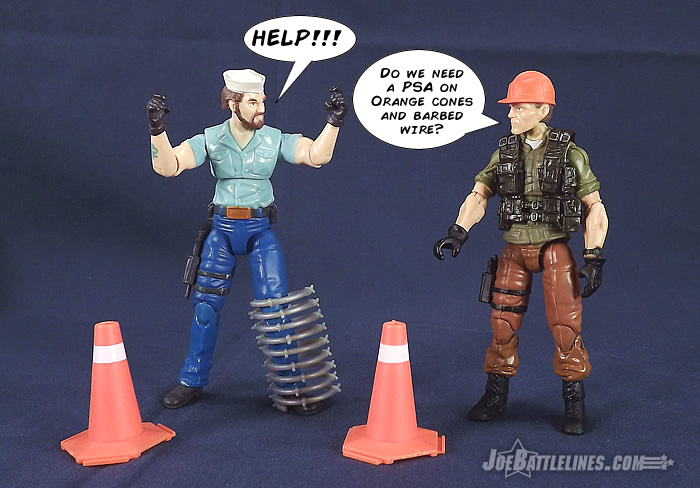 G.I. Joe Collector's Club Tollbooth action figure
