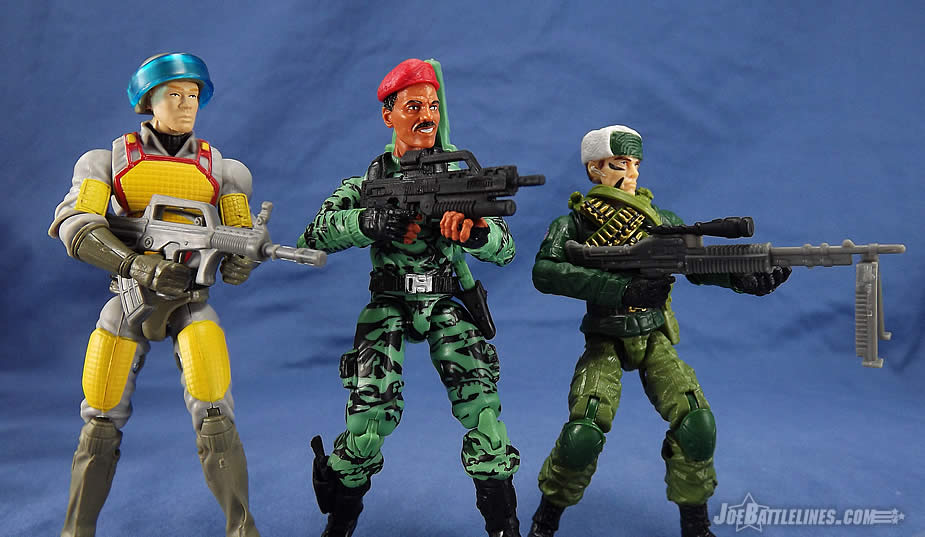 G.I. Joe FSS 4 Z-Force Jammer and Action Force