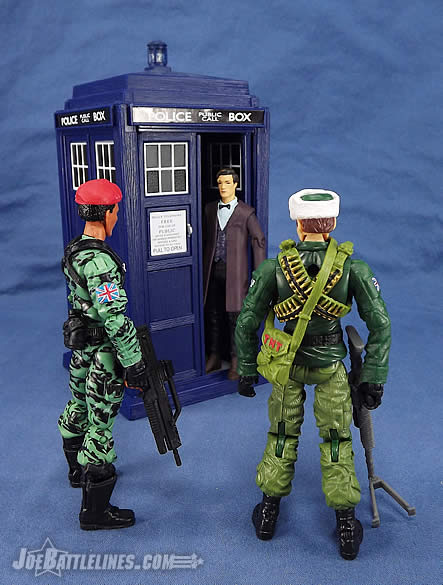 G.I. Joe FSS 4 Z-Force Jammer meets the Doctor