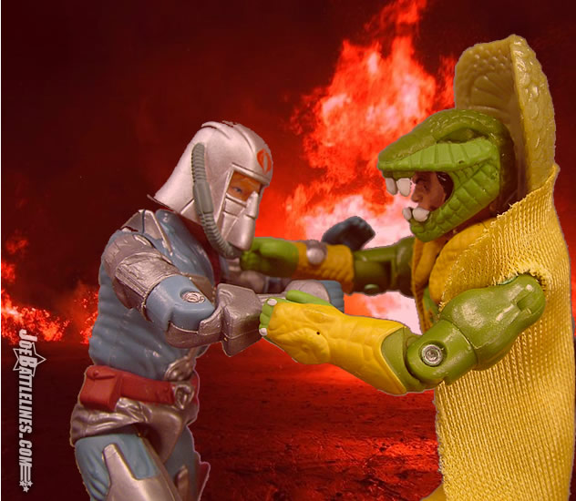 JoeBattlelines: Review of Comic Pack #74 - Zartan, Cobra ...