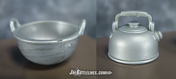 Cooking bowl & kettle