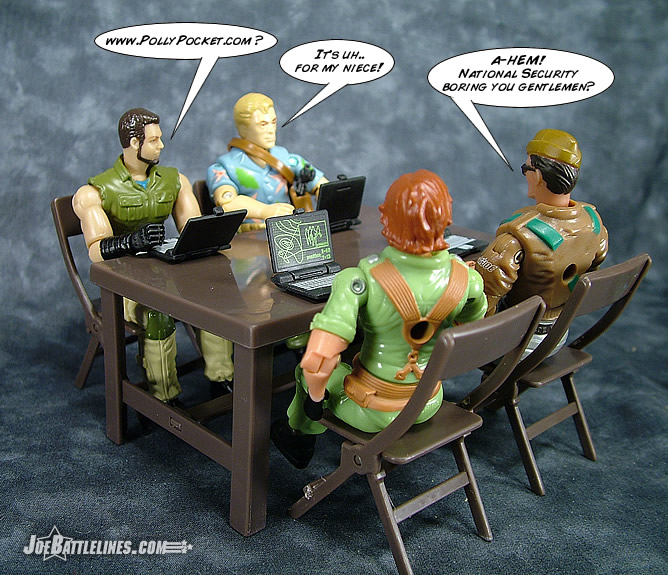 Joes at the conference table