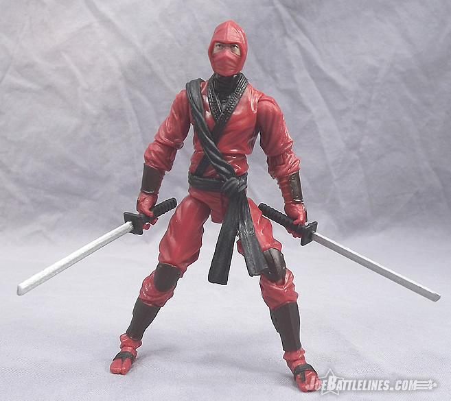 JoeBattlelines: Review of G I  Joe Retaliation Red Ninja