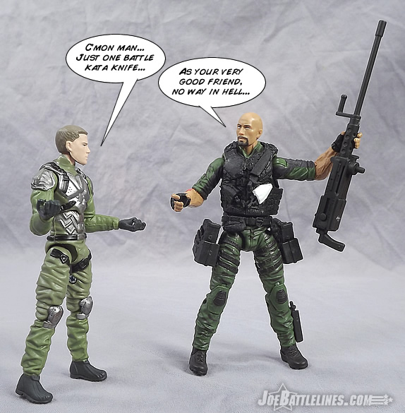 G.I. Joe Retaliation Battle Kata Roadblock