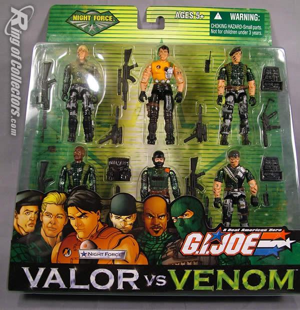 G.I. Joe: Valor vs. Venom JBL Review Valor vs Venom Night Force Toys R Us Exclusive