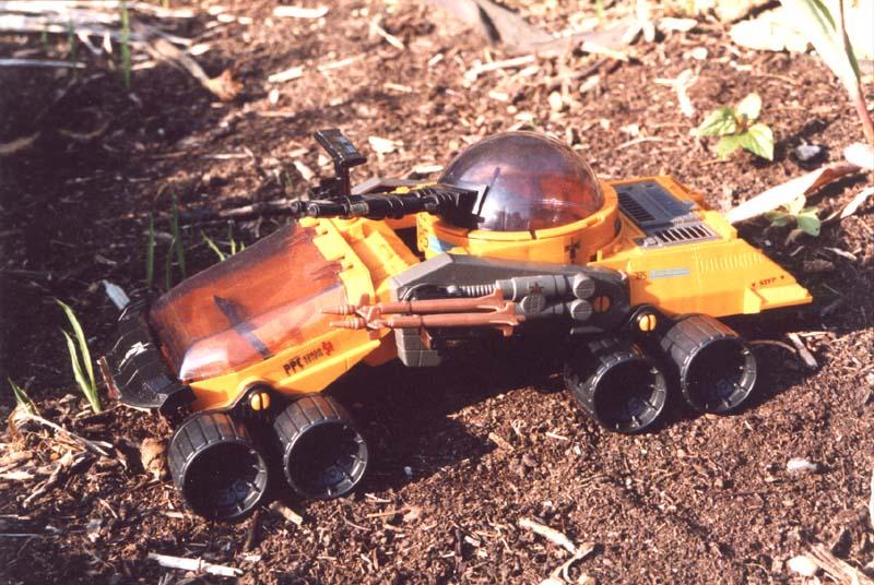 GI Joe Vehicle Cobra Iron Grenadier/'s RAZORBACK Missile 1989 Original Part